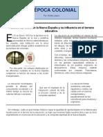 Función del Clero en la Nueva España y su influencia en el terreno educativo