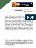 Gumiero - A regionalizacao no planejamento da Amazonia