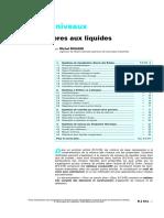 Contrôle de niveaux - Systèmes propres aux liquides