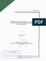 Norma Servicios Prestaciones Sociales Institucionales