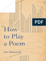 How to Play a Poem - Don Bialostosky.pdf