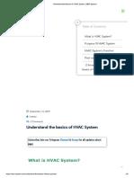 Understand the basics of HVAC System _ BMS System