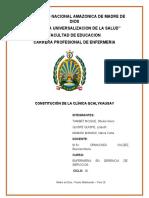 CONSTITUCION DE UNA EMPRESA clinica  Qcalykausay