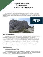 TOPO du Paradou - Alpilles