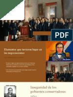 Anexión a España y Restauración