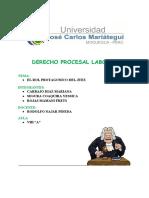Rol Protagonico Del Juez- Derecho Laboral