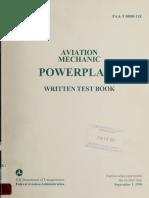 Aviation mechanic powerplant written test book1992