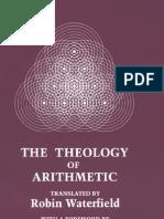 Iamblichus the Theology of Arithmetic