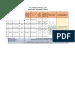 Calendarizacion Carrera ASIST DE LOGISTICA