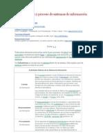 Análisis diseño y proceso de sistemas de información
