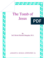 The Tomb of Jesus (PDF) - Ahmadiyya Muslim Community