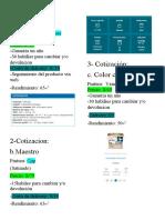 Tarea Cotizacion-lista y evaluacion