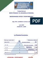 Microfinanzas V Convencion Finanzas Huancayo Presentacion
