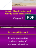 5 Activity-Based Costing and Activity-Based Management