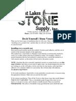 DIY Stone Veneer