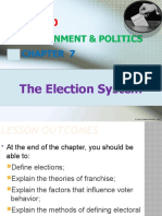 Chapter 7 - Election System