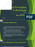 Module 8 Ethical Principles in Business