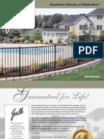 Jerith Ornamental Aluminum Fence Brochure
