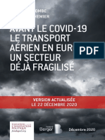 Fondapol Etude Combe Brechemier Transport Aerien Avant Covid 12 2020