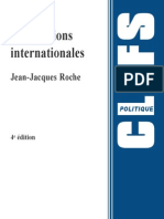 th des relations internationales
