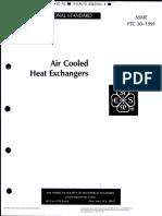 ASME PTC30 - Air Cooled Heat Exchanger