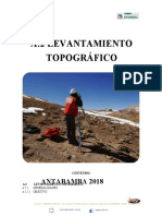 Informe Topografico DE CARRETERA
