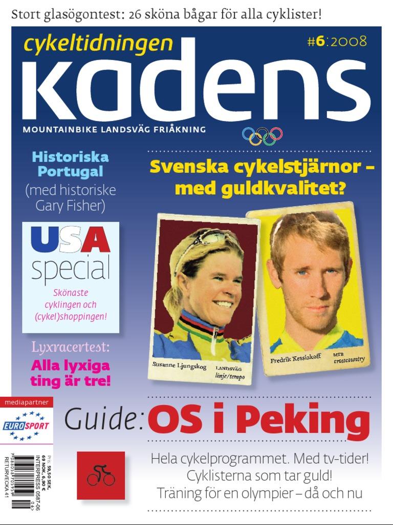 Cykeltidningen Kadens   6 595142a2274e4