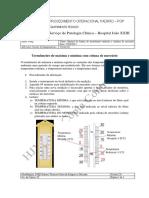 Manual de Utilização de termômetro de mercúrio