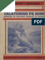 Laurenția Bacalbașa - Călătorind pe Rin 1929