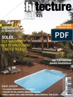 Architecture Durable N°25 Mai-Juillet 2016