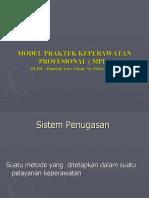 MODEL PRAKTIK KEPERAWATAN PROFESIONAL(MPKP)