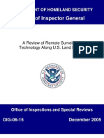 OIG_06-15_Dec05 remote surveillance technology