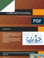 CLIMA INSTITUCIONAL.ppt