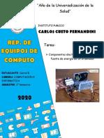 Componentes Electronicos de Fuente de Energia de Pc [DARREL B.]