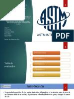 Norma ASTM D287 D877 y D1816
