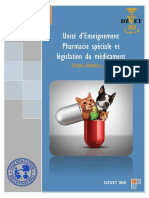 S9 - Pharmacie Spéciale Et Législation Du Médicament