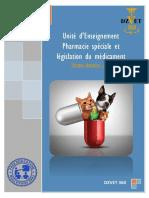S9 - Pharmacie Spéciale Et Législation Du Médicament-DZVET360-Cours-veterinaires
