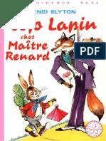 Jojo Lapin chez Maître Renard - Enid Blyton