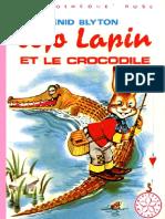 Jojo Lapin et le crocodile - Enid Blyton
