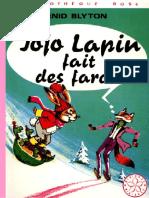 Jojo Lapin fait des farces - Enid Blyton