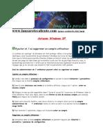 22 Pages D'astuces Windows Xp (A Prendre !!!)