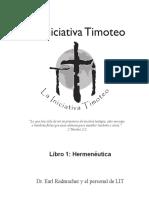 Book 1-Hermenéutica