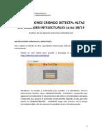 INSTRUCCIONES DETECTA CRIBADO AACC