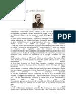 Biografía de José Santos Chocano