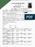 Pierre Francois Booking Report