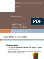 Modulo 01 - Aparelhos de medida