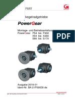 Spiralkegelradgetriebe