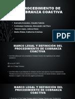 GRUPO 3- PROCEDIMIENTO DE LA COBRANZA COACTIVA