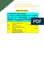 3.- ASIENTO DE VENTAS (1)