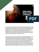 Bolívar Rechaza, Maldice y Prohíbe la masonería.
